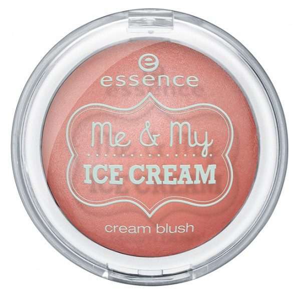 ess MeAndMyIce CreamBlush 595x591 Essence Me & My Ice Cream