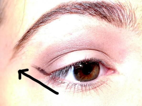 eyeliner aanbrengen stap voor stap