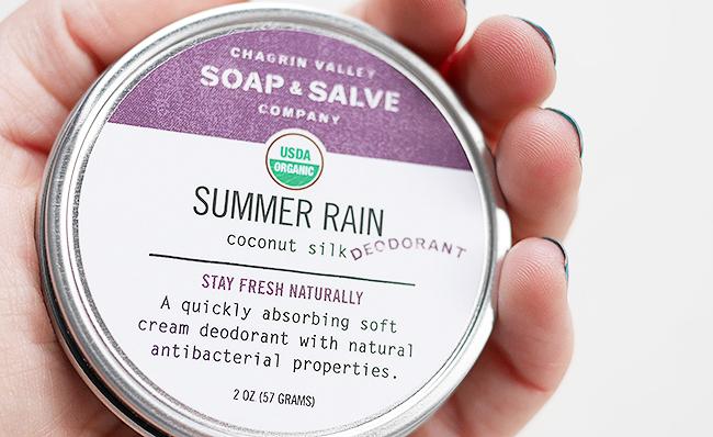 Chagrin Valley Soap & Salve Summer Rain Deodorant • Cynthia