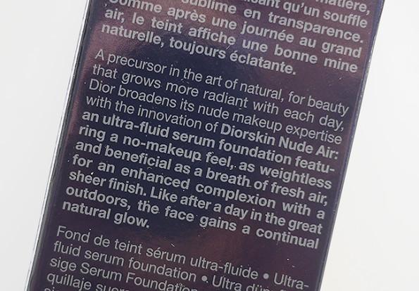 Diorskin Nude Air Sérum de Teint