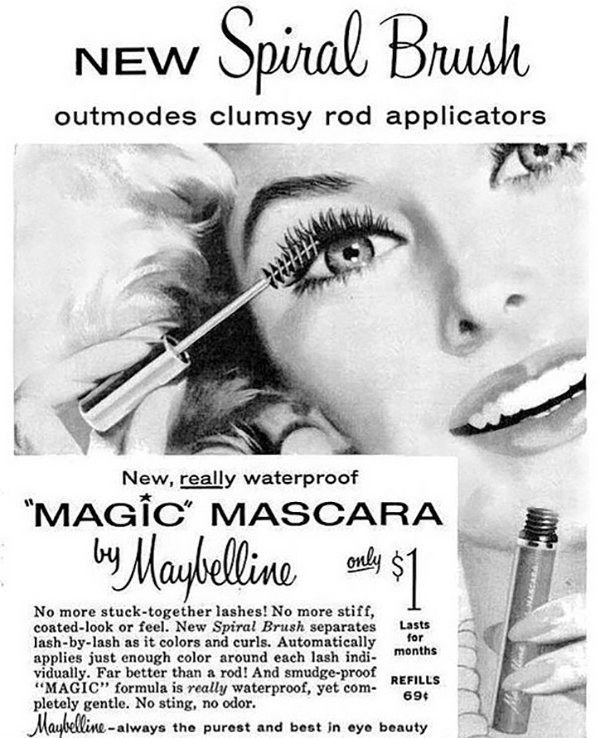 Geschiedenis mascara