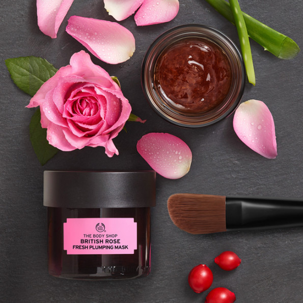 The Body Shop At-Home Facial Mask Experience