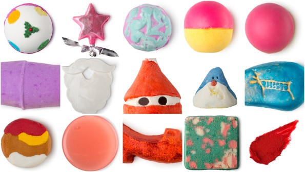 LUSH Halloween en Winter