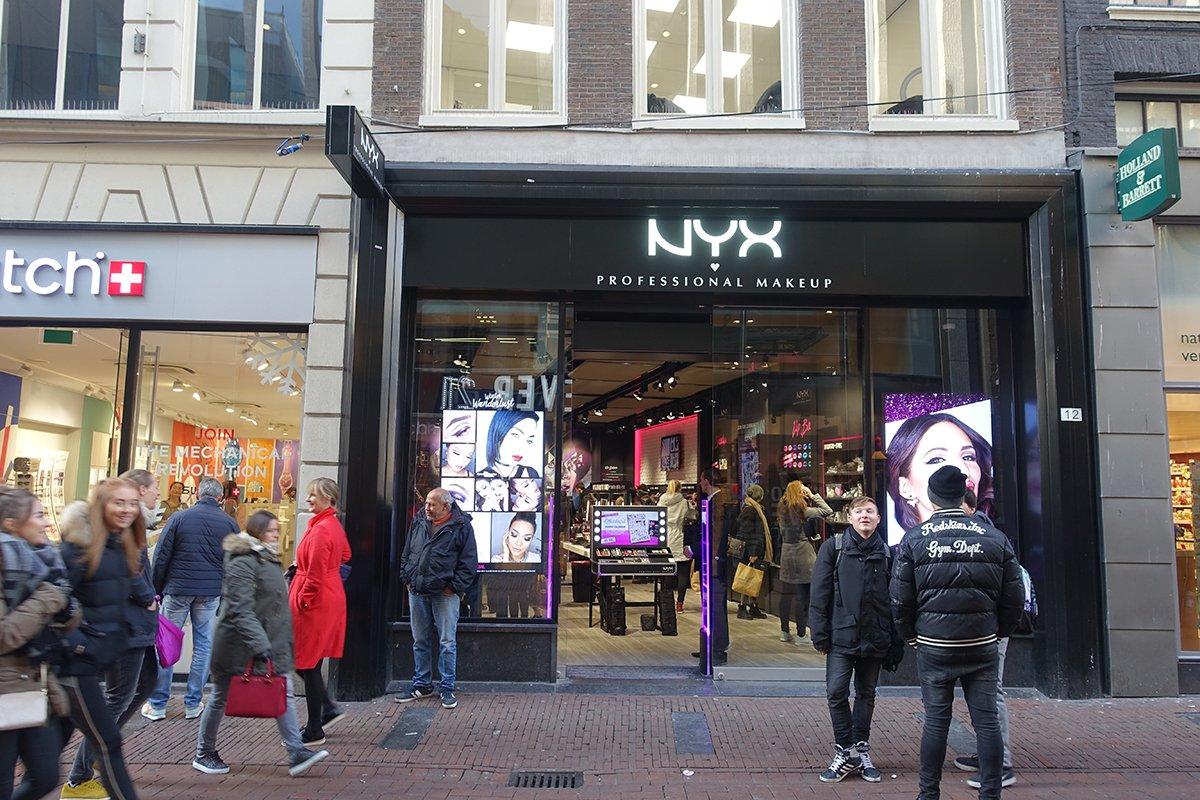 Nyx winkel in amsterdam cynthia for Interieur winkel amsterdam