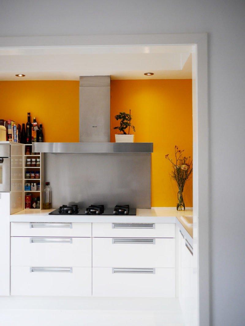 Geel in je huis cynthia - Verf kleur voor donkere gang ...