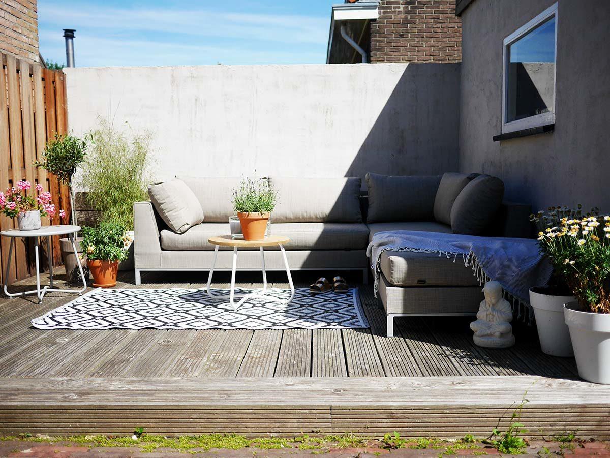Wehkamp Loungebank Buiten.Onze Tuin Zomer 2017 Cynthia
