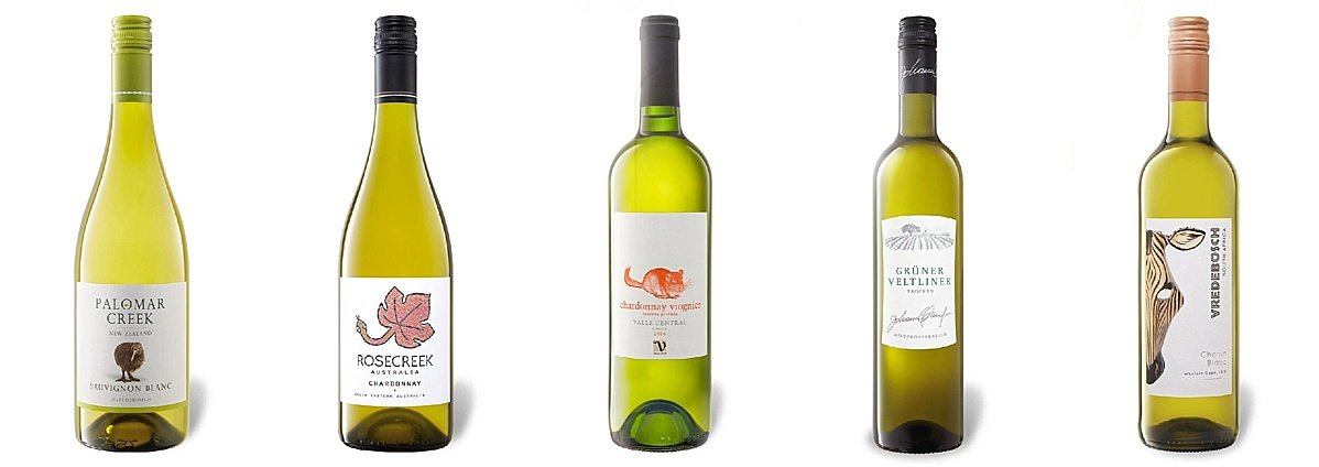 1 fles witte wijn per dag