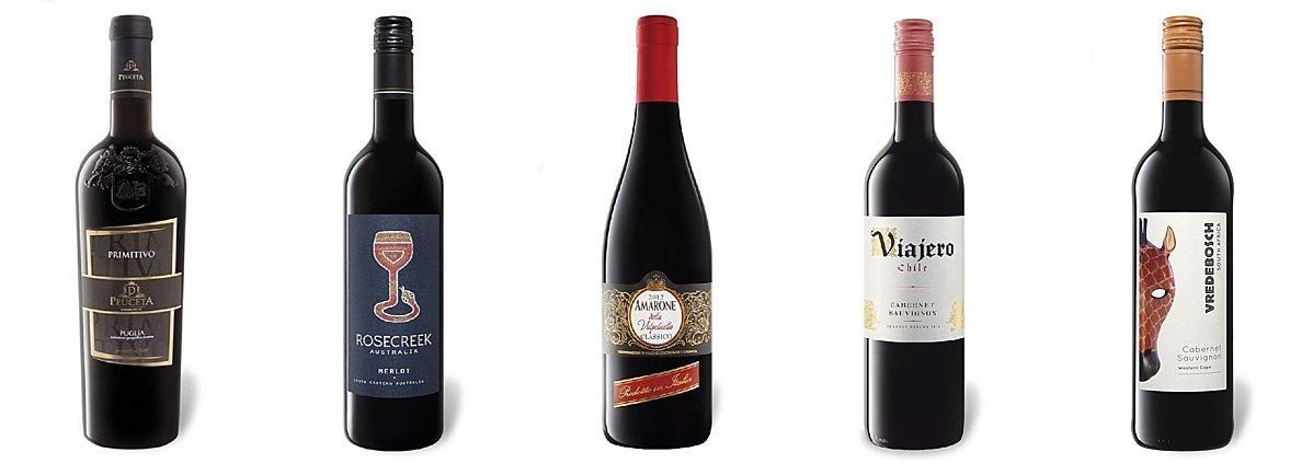 goede fles rode wijn